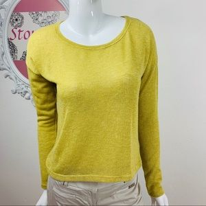 XXI, Forever21 /Gold Shimmery Light Weight Sweater